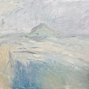 'Steeperton from the Taw' (1999). Oil on Board. 122cm x 163cm. POA