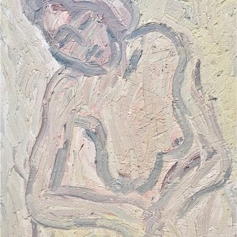 'Yvette' (2004). Oil on Board. 105cm x 72cm. POA