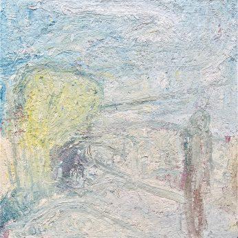 'Partou at Mannacan' (1999). Oil on Canvas. 92cm x 92cm. POA