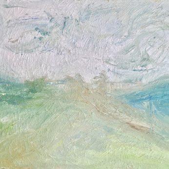 'Summer Landscape' (2009). Oil on Canvas. 71cm x 92cm. POA