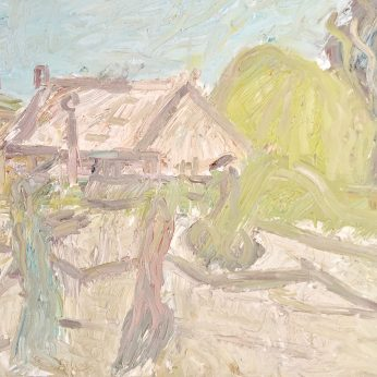 'Summer Morning' (1996). Oil on Board. 92cm x 122cm. POA