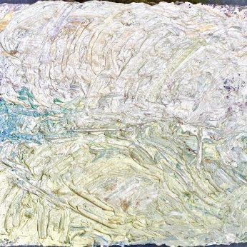 'Landscape near Newlyn' (2014). Oil on Board. 28cm x 31cm. POA